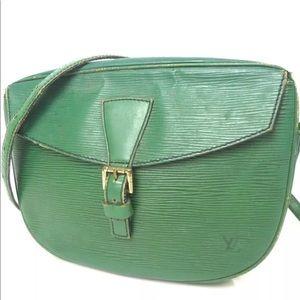 🔥🧚♀️Louis Vuitton Green Epi crossbag Jonofine